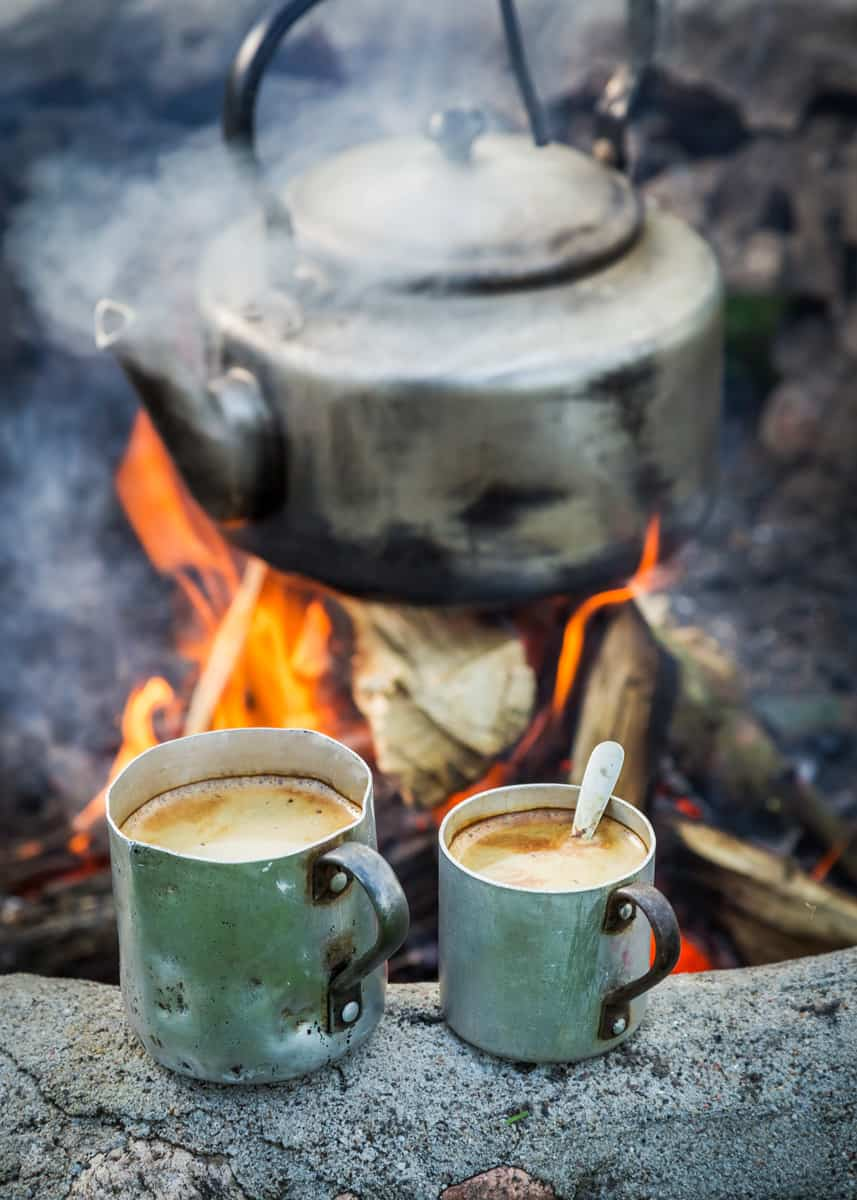 how to make awesome coffee while camping