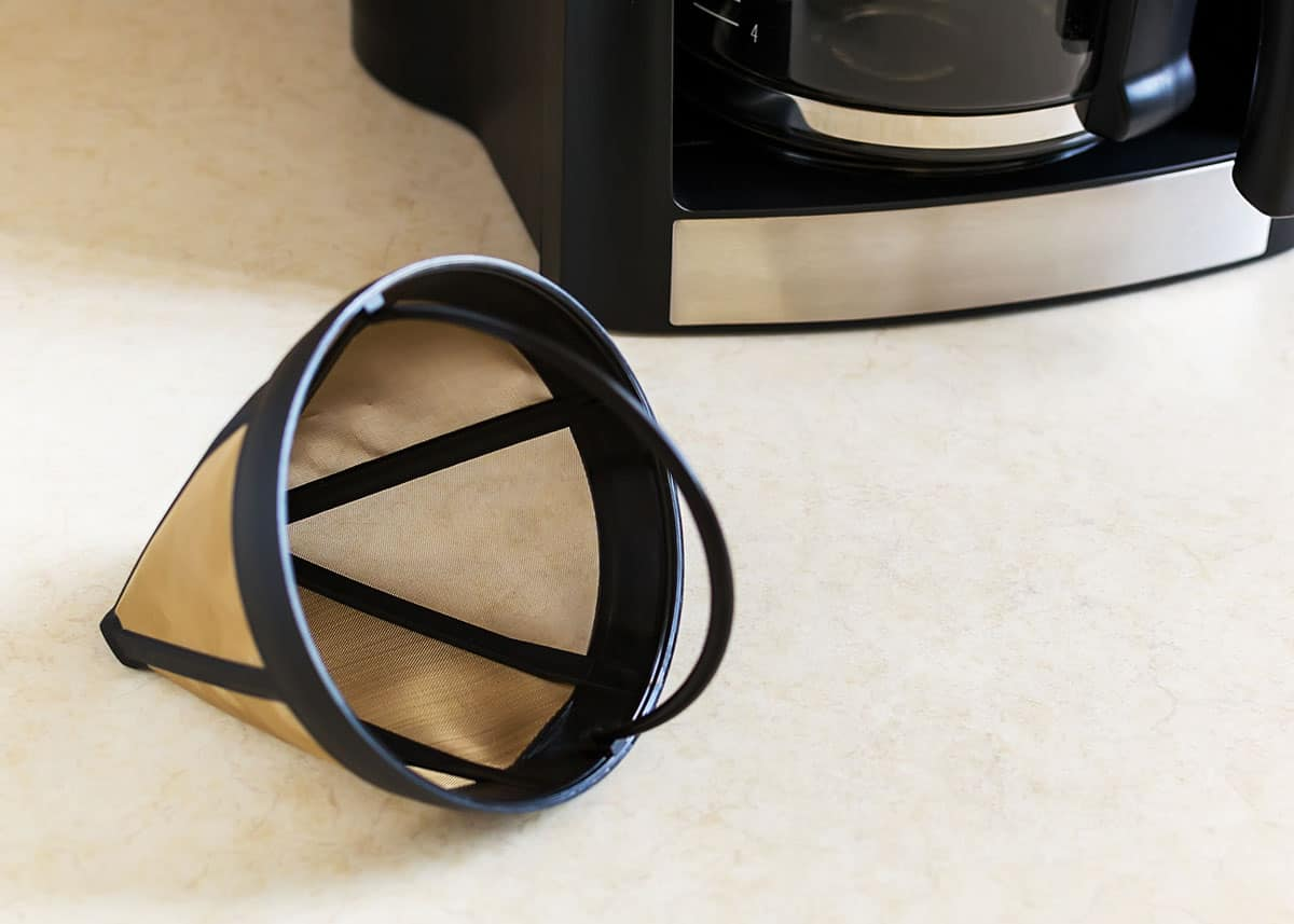 how to clean coffee filters