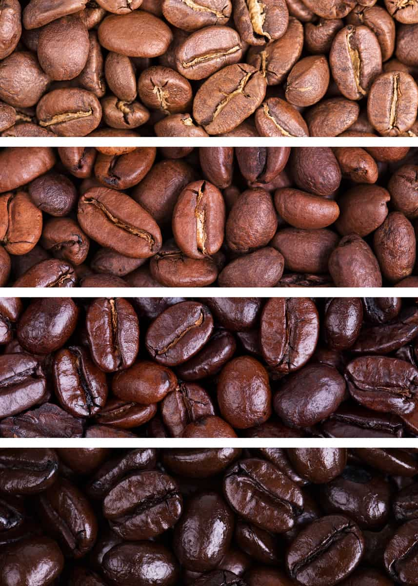 Types of Coffee Bean Roasts